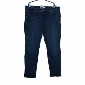 Torrid denim boyfriend style jeans 22R